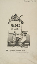 Advert For 'Flashes', Periodical